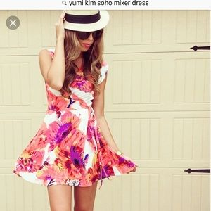 Yumi Kim Silk wrap dress, small